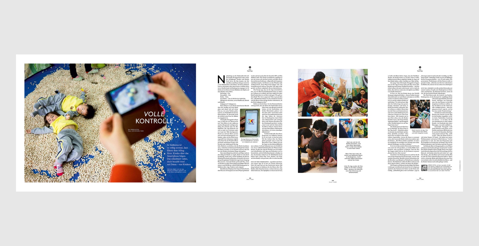 Kidsnote, May 2015, Cicero Magazine in Germany