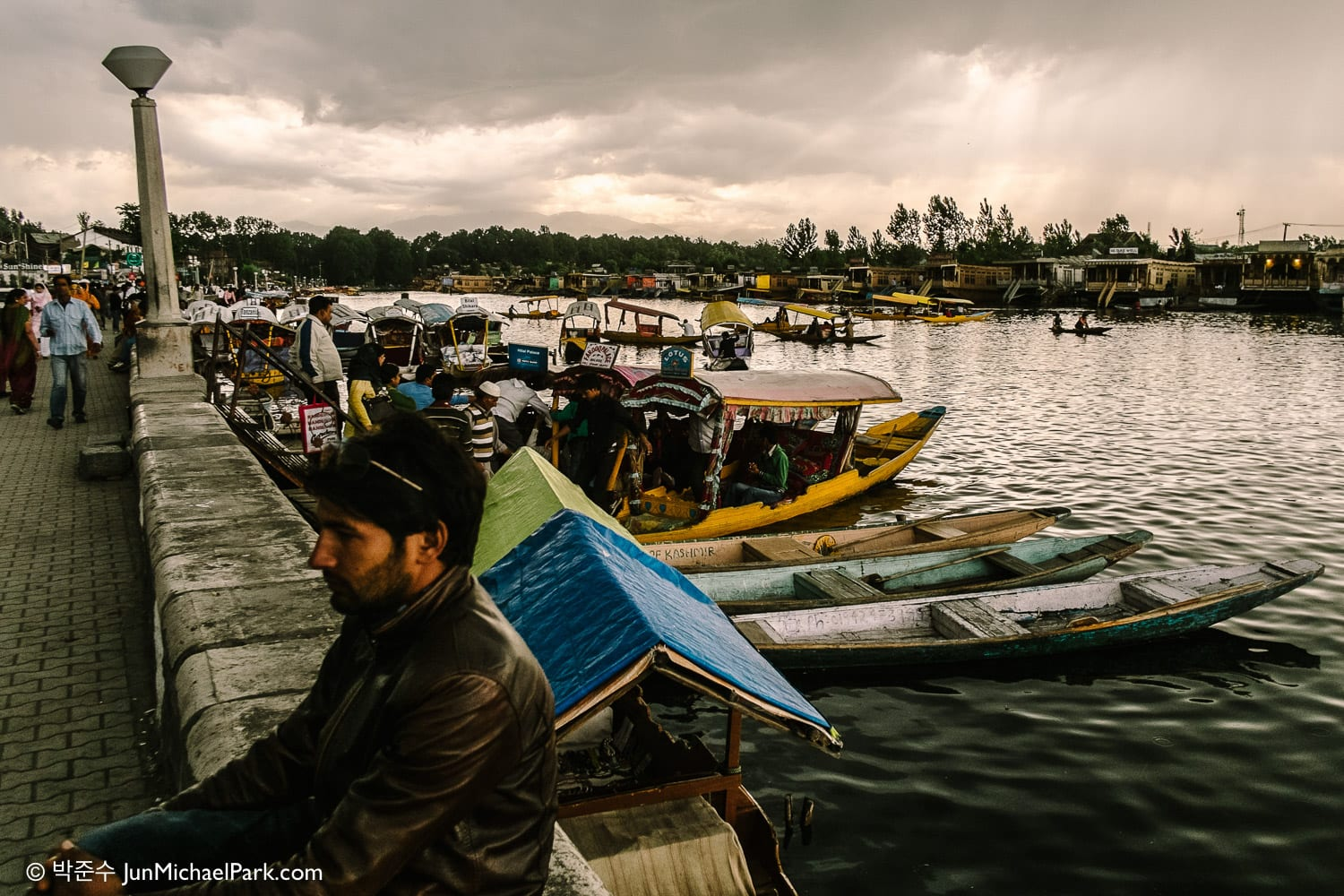 Dal Lake, Srinagar, India, 2012